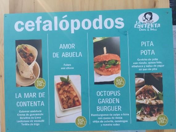 Menu at Vigo Seafest